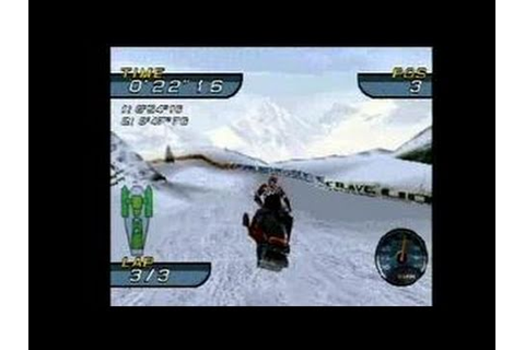 SnoCross Championship Racing PlayStation - YouTube