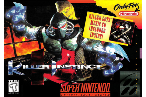 Killer Instinct SNES Super Nintendo