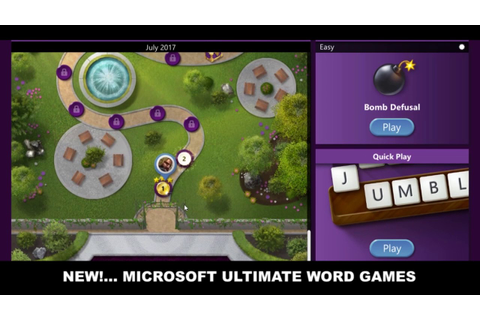 Microsoft Ultimate Word Game Review - YouTube