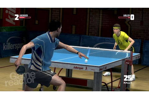Table Tennis till Wii - Gamereactor Sverige