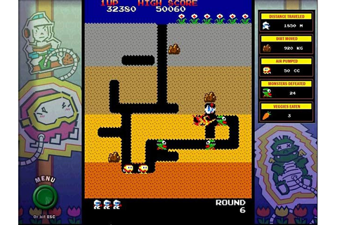 Dig Dug. Download and play at PC Games 4 Free!