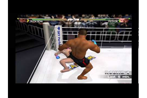 Rampage vs. Fedor PRIDE GP 2003 PS2 Game - YouTube