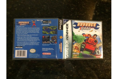 Advance Wars GBA game case | Game Case King - Custom Game ...