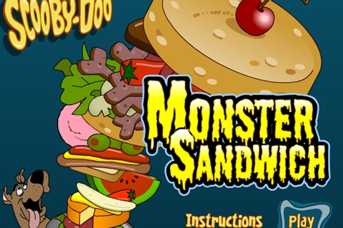 Scooby Doo Monster Sandwich Game - Scooby Doo games ...