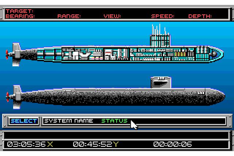 688 Attack Sub Download (1989 Simulation Game)