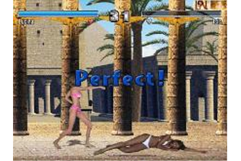 Bikini Karate Babes Download (2002 Arcade action Game)