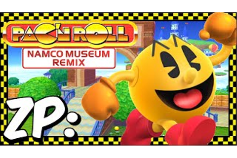 Game | Zonic Plays Pac N Roll Remix Namco Museum Remix 720p