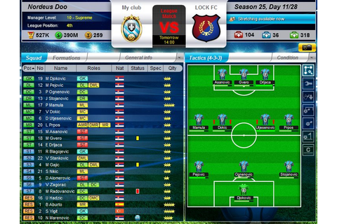 Android and Facebook game reviews: Top Eleven Be A ...
