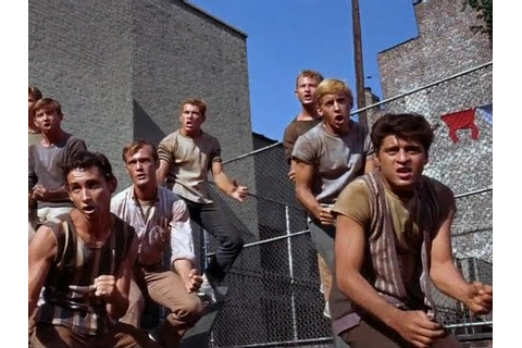 West Side Story - Jet Song - Official Dance Scene - 50th ...