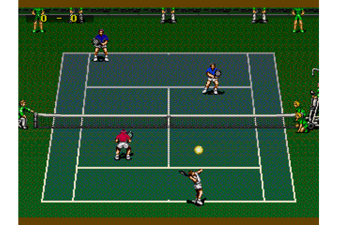 ATP Tour Championship Tennis (1994) by Sega Mega Drive game