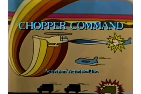 Atari 2600 VCS Chopper Command : scans, dump, download ...