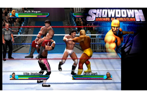 Showdown: Legends of Wrestling ... (PS2) - YouTube