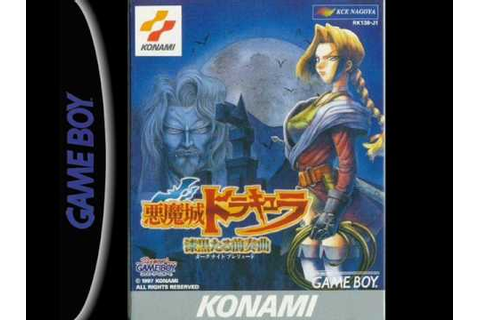 Castlevania Legends Music (Game Boy) - Alucard Battle ...