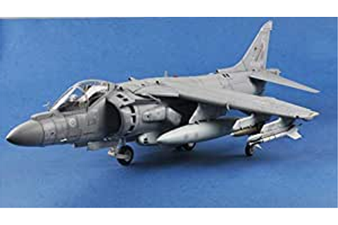 Amazon.com: Easy Model AV-8B Harrier II 1/18 Aircraft ...