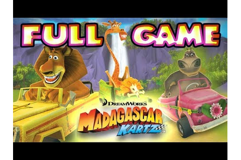 Madagascar Kartz FULL GAME Longplay (PS3, X360, Wii) - YouTube