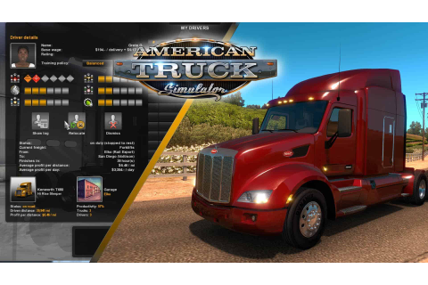 American Truck Simulator Game Features - American Truck ...