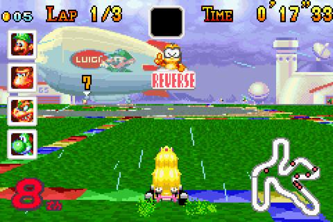 Mario Kart Super Circuit Auf Qwant Games
