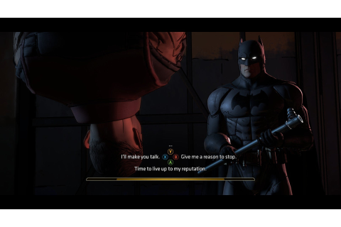 Batman: The Telltale Series review impressions: Slow burn ...