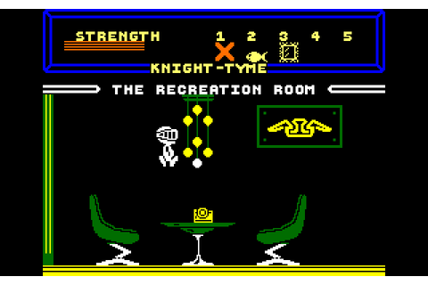 Knight Tyme (1986) by Mastertronic Amstrad CPC game