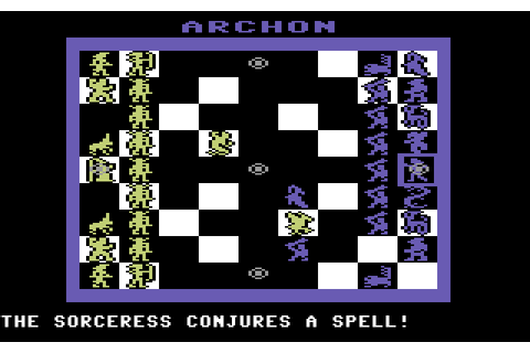 Archon: The Light and the Dark (1983) by Free Fall C64 game