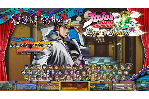 JoJo's Bizarre Adventure: Eyes of Heaven: All Characters ...