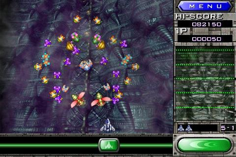 Galaga REMIX | Articles | Pocket Gamer