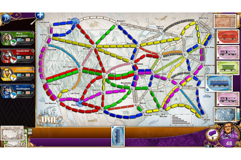 Ticket to Ride v2.5.8-P2P - SKiDROW CODEX