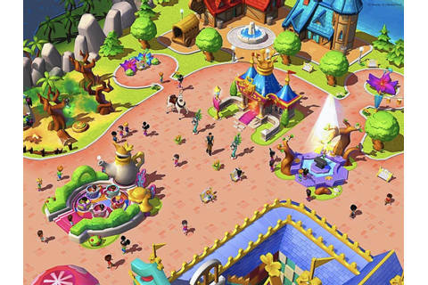 Build a virtual Magic Kingdom, but beware app's hook ...
