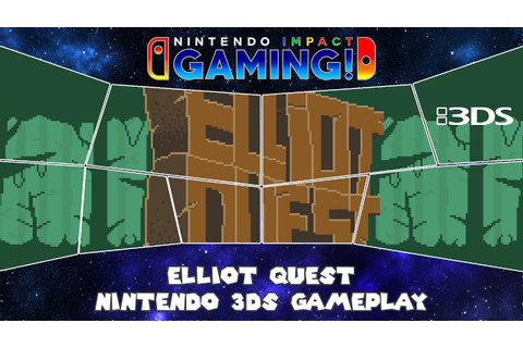Elliot Quest Nintendo 3DS Gameplay - YouTube