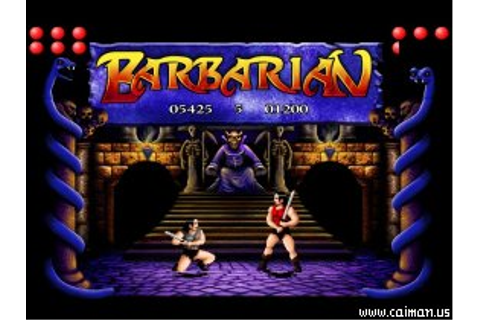 Caiman free games: Barbarian 2 by TDB Soft.