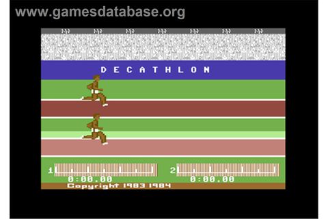 The Activision Decathlon - Commodore 64 - Games Database