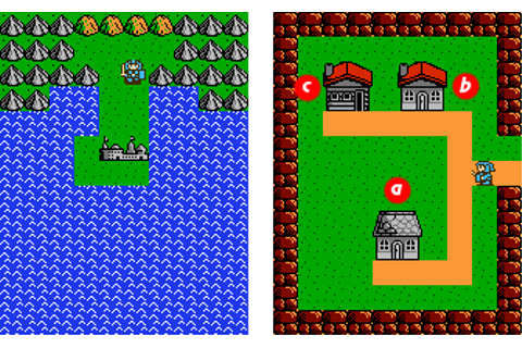 Kalin no Tsurugi/Overworld — StrategyWiki, the video game ...