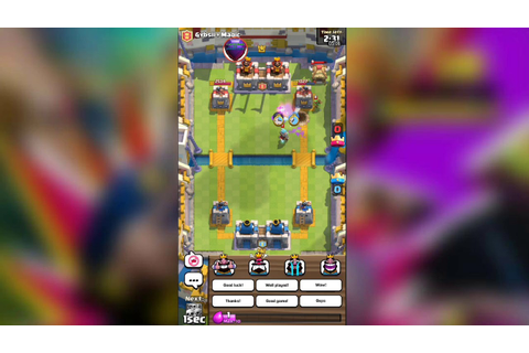 Double Game Battle | Clash Royale - YouTube
