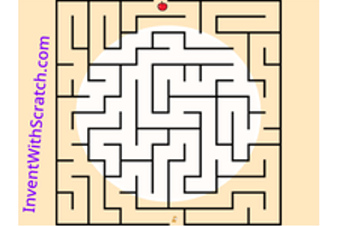 Maze Game on Scratch