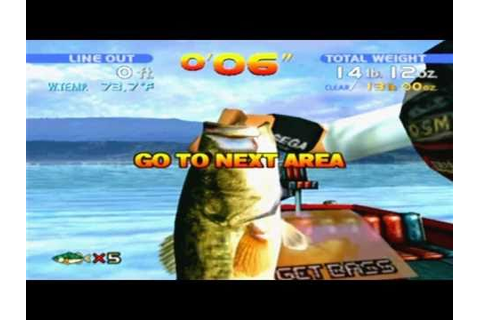 Sega Bass Fishing Game Sample - Dreamcast - YouTube