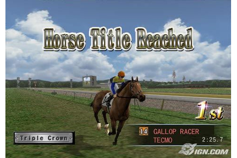 Gallop Racer 2006 - IGN