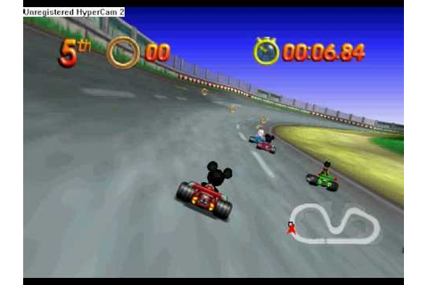 Console Games: Mickey Speedway USA - YouTube