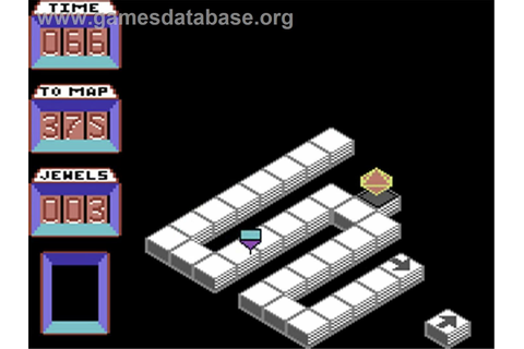 Spindizzy - Commodore 64 - Games Database
