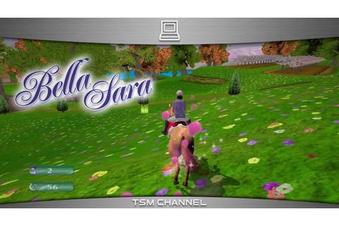 Bella Sara (part 1) (Horse Game) - YouTube
