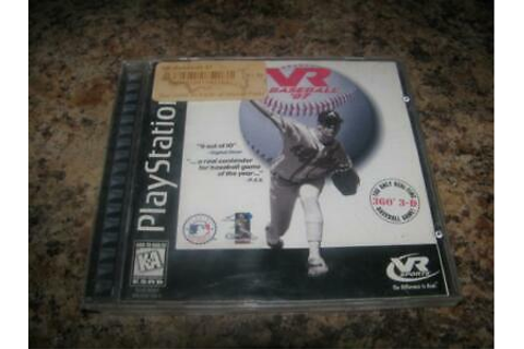 VR Baseball '97 / 1997 Sony Playstation 1 (PS1) Game ...