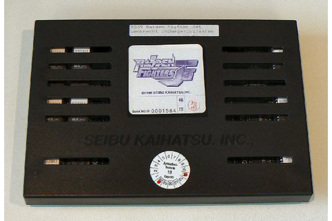 Arcadiabay Videospiele : Raiden Fighters Jet Game Modul (Seibu ...