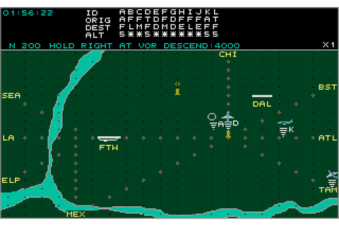 Kennedy Approach (1988) by Microprose Atari ST game