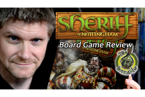 'Sheriff of Nottingham' - Fantasy Board Game Review. - YouTube