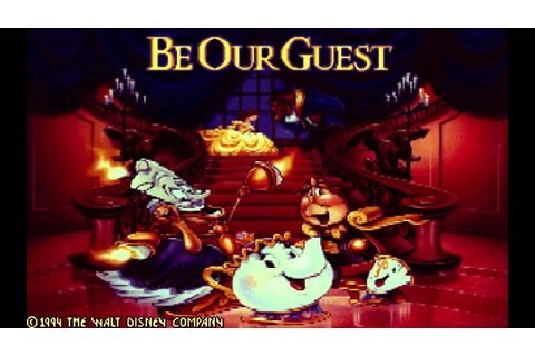 Disney 1994 Beauty and the Beast Game - Gaston - YouTube