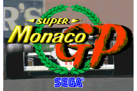 Super Monaco GP (1989) Arcade game