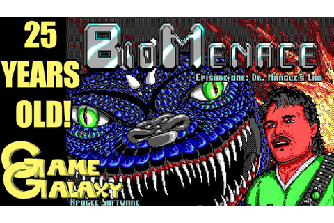 BIO MENACE 25TH ANNIVERSARY - Game Galaxy - YouTube