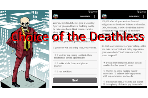 Choice of the Deathless MOD APK for Android Free Download