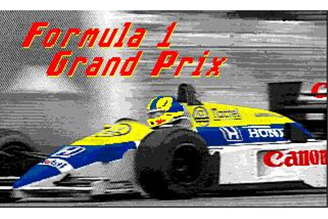 Formula One Grand Prix Download (1988 Amiga Game)