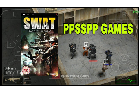 SWAT - TARGET LIBERTY (528 Mb) - PPSSPP GAMES for PC and ...