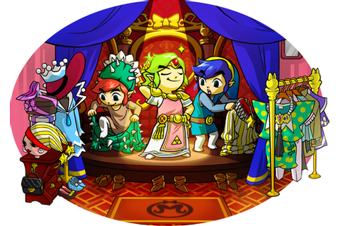 Costumes - The Legend of Zelda: Tri Force Heroes Wiki ...